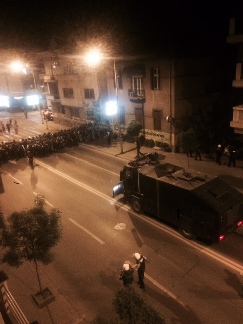 Protests escalate in Skopje, clashes between police and protesters