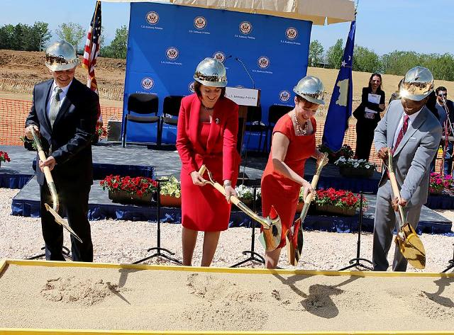 The start of the construction of the new US embassy inaugurated in Pristina