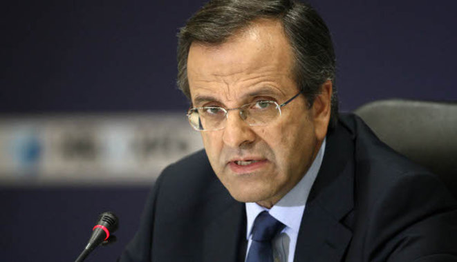 Samaras: Agreement at any cost