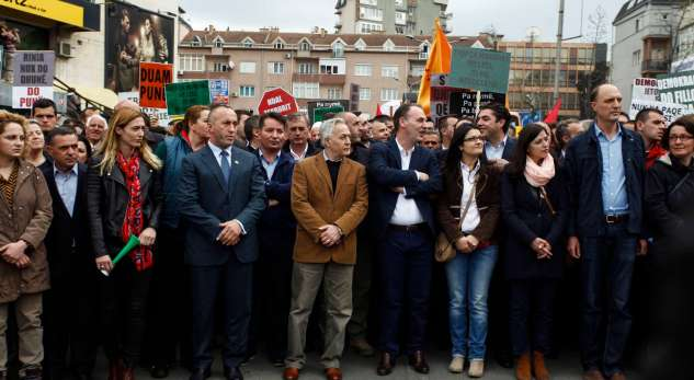 Kosovo's government is expecting a difficult month, says the opposition