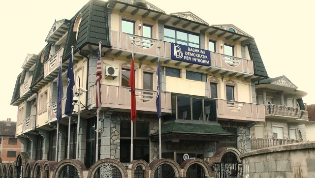 Blast near BDI's seat in Tetovo