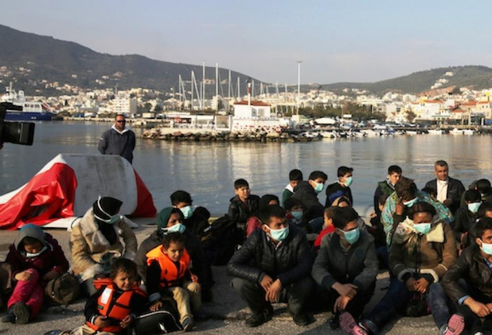 Over 1,100 immigrants arrived to the Greek islands during the weekend