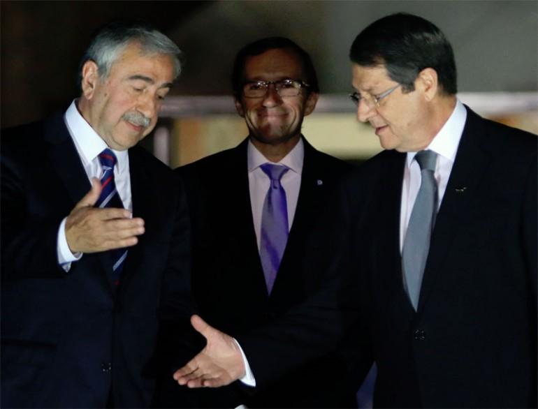 Akinci continues UN-led talks with Anastasiades