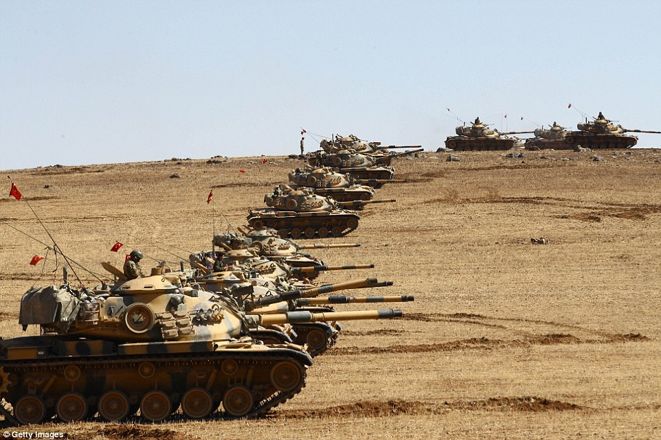 Ankara is planning to invade Syria