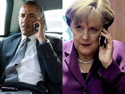 Telephone conversation Obama-Merkel for Greece