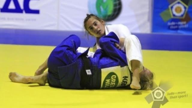 Nora Gjakova wins Kosovo's first medal in the Olympic games