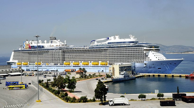 Greece received just EUR 500 million from cruises in 2014