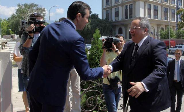 Debates and reactions in Skopje following Kotsias' visit