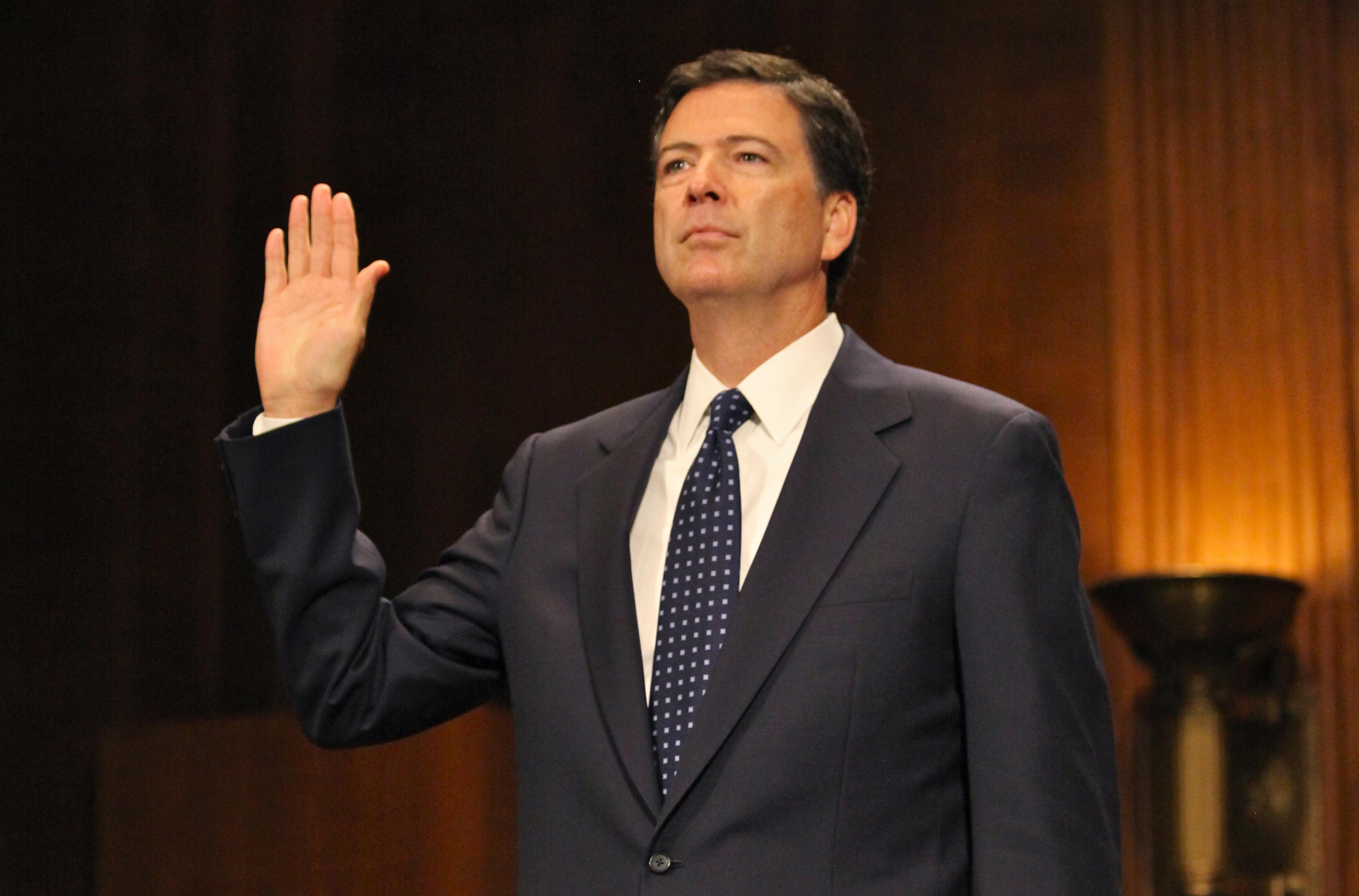 FBI director Comey praises Serbia