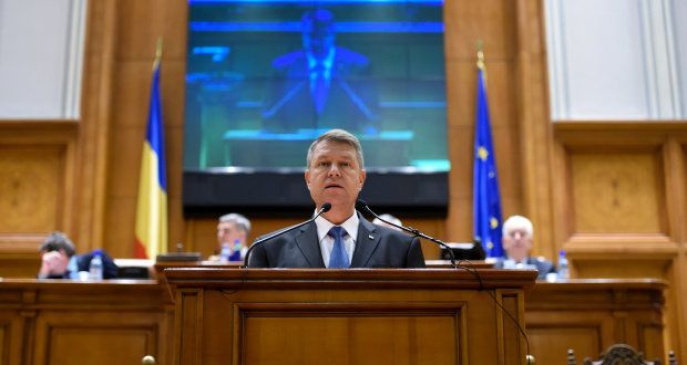 Romania's Iohannis unveils new defense security strategy before the Parliament