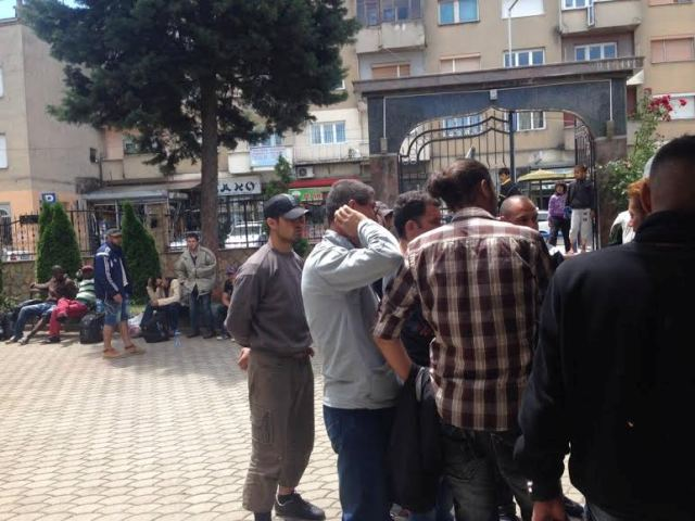 Kumanovo, the city filled with Middle Eastern refugees