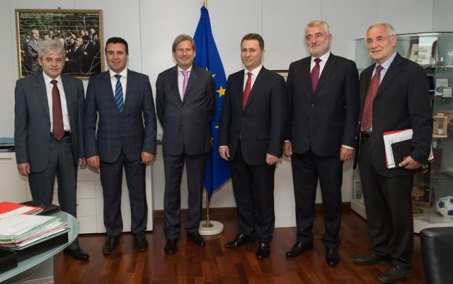 Talks for the solution of the crisis in FYROM to resume today