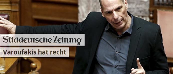 Sueddeutsche Zeitung: The Varoufakis is… right!