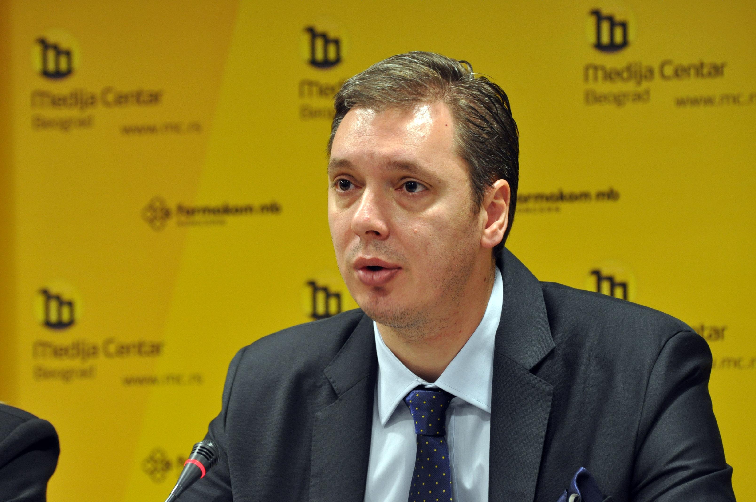 Vucic: Let Serbia rise
