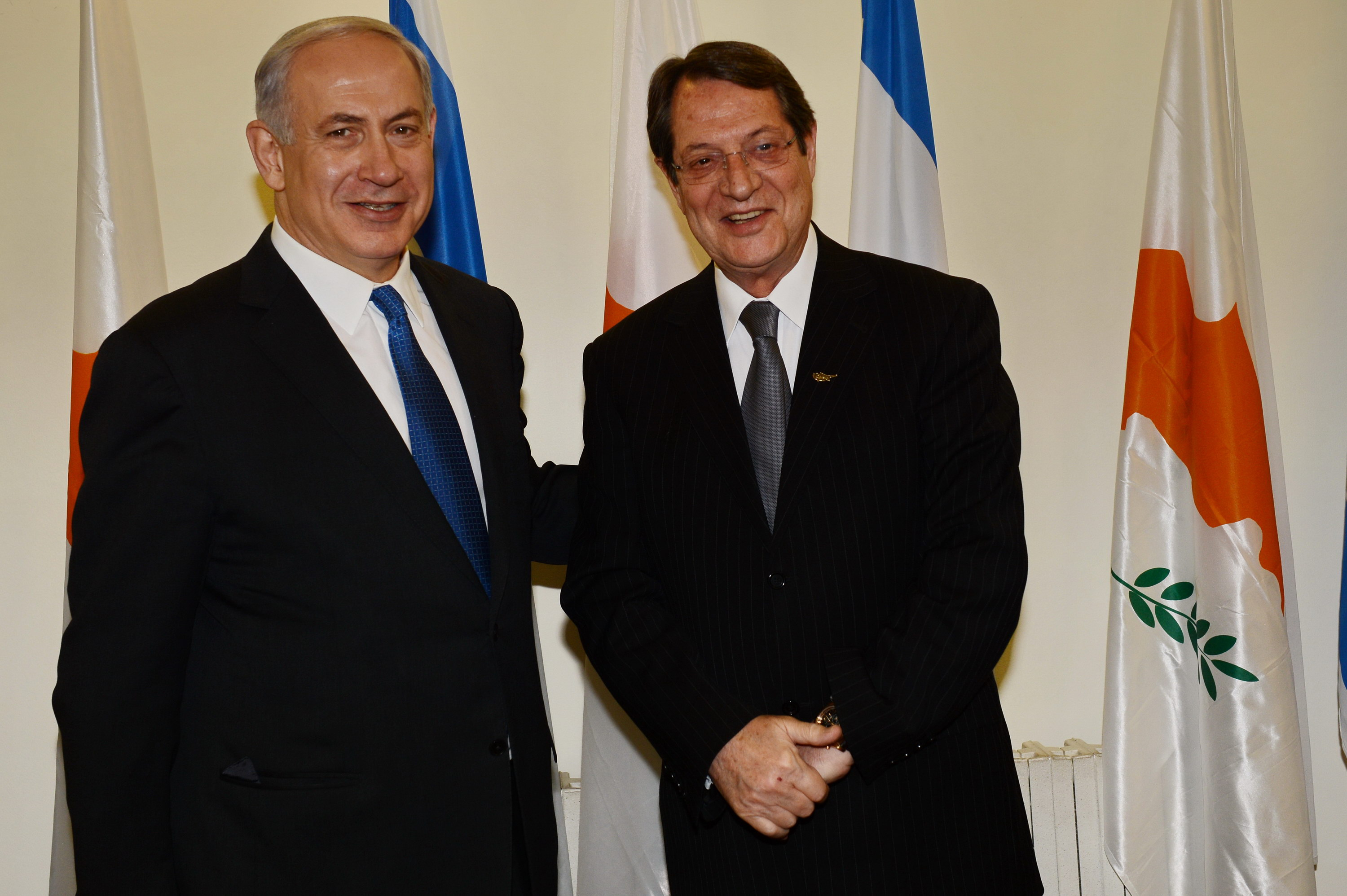Netanyahu and Anastasiades discuss energy and Cyprus problem