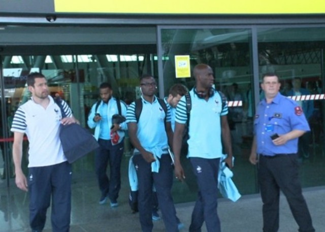 Match against Albania, the French football stars land in Tirana