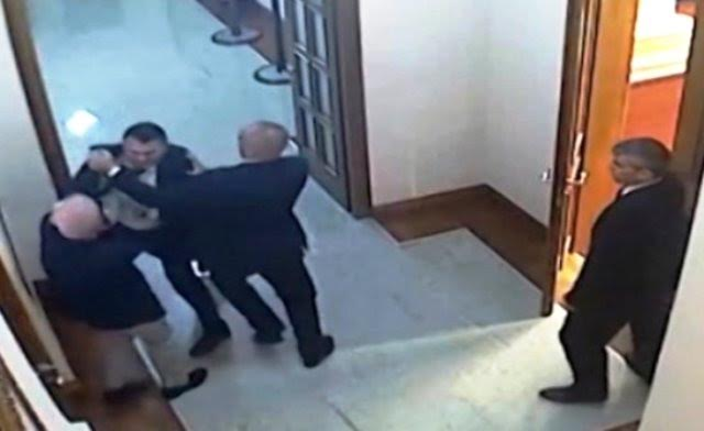 Physical attacks can take place in the Albanian Parliament because they are not considered a criminal offense