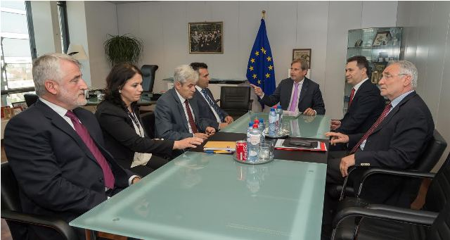 No agreement reached in Brussels for the solution of the political crisis in FYROM