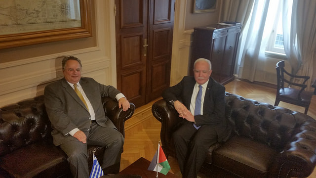 Greek FM announces creation of Group of Friends of Palestine in the EU