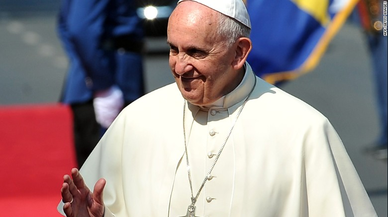 Pope's visit – out of protocol