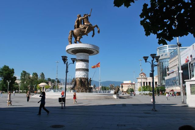 Besides domestic crisis, FYROM also has pending issues with the neighbors