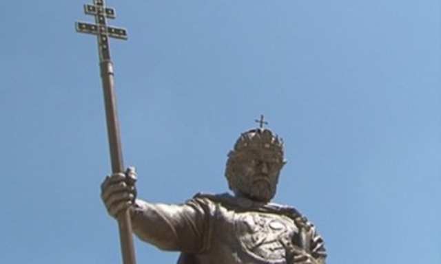 Controversy surrounds new statue of Tsar Samuil in Sofia