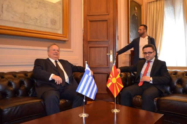 FYROM's Integration minister visits Athens, the name dispute at the focus of the talks