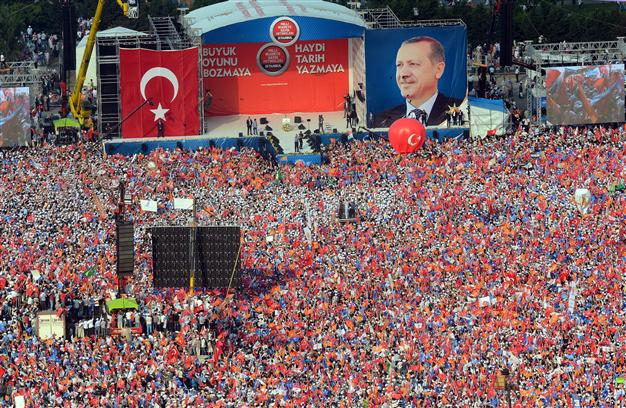 Why do the Turks vote for Erdogan?