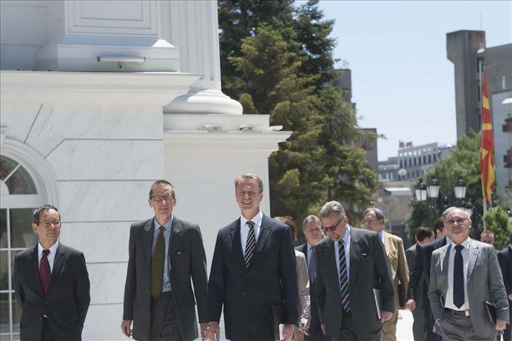 EU ambassadors meet PM Gruevski for the solution of the crisis