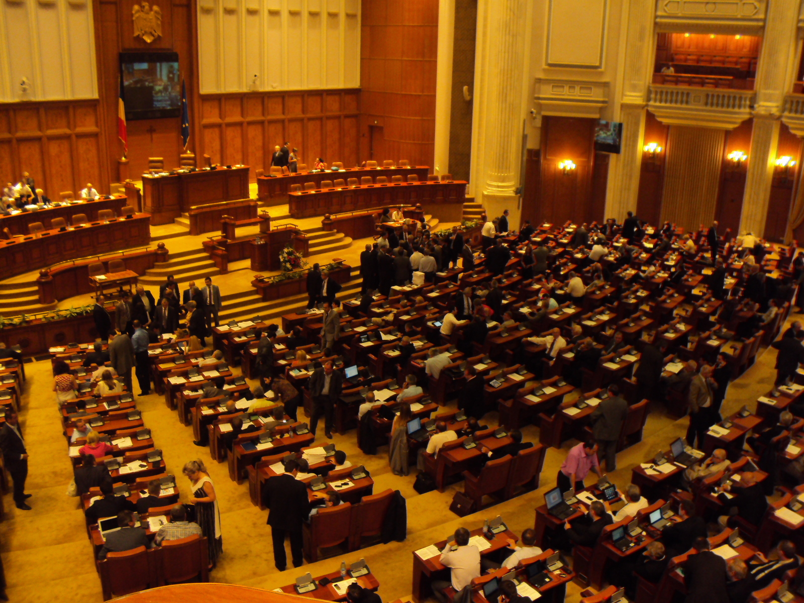 Romanian President says Parliament obstructing justice
