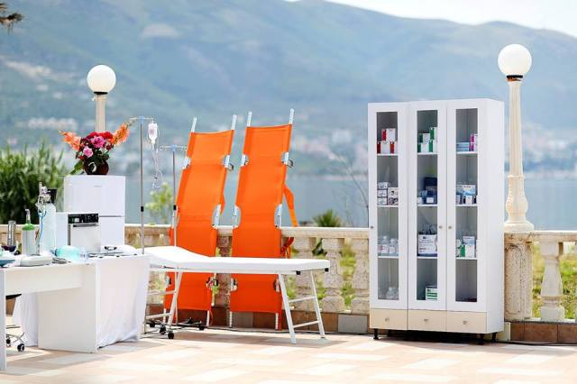Tourist areas in Albania with health service 24 hours a day