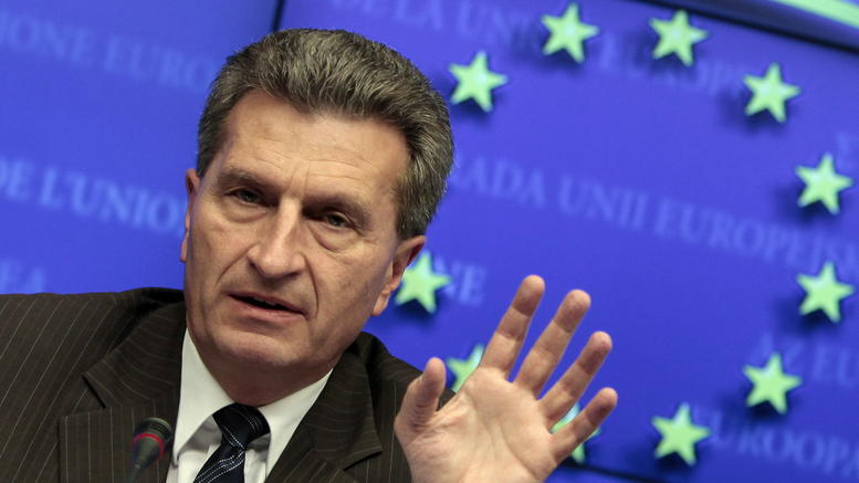 Oettinger: The Grexit has left the table