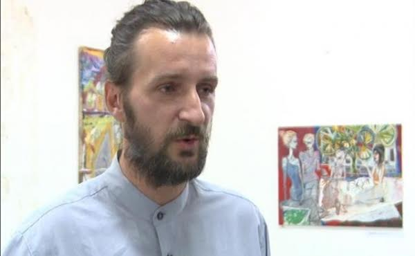 Painter from Kosovo opens an exhibition in Belgrade