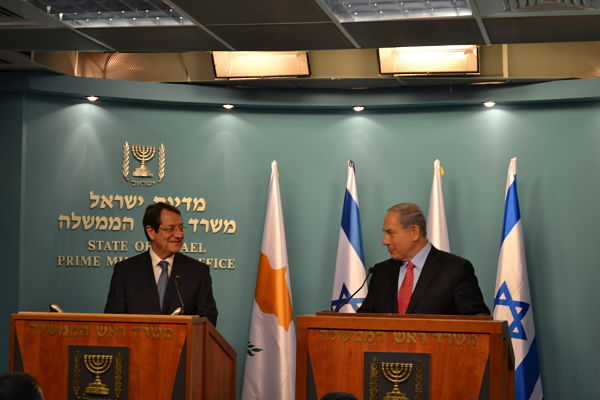Anastasiades-Netanyahu: 'Excellent climate in Nicosia-Tel Aviv relations'