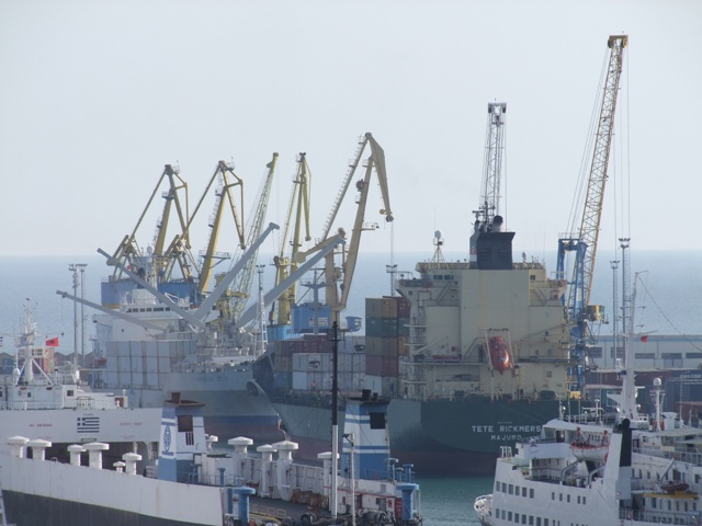 Russia, Egypt and Turkey occupy most of export and import in the main Albanian port