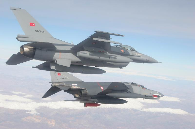 Turkey bombs both the ISIS and the PKK