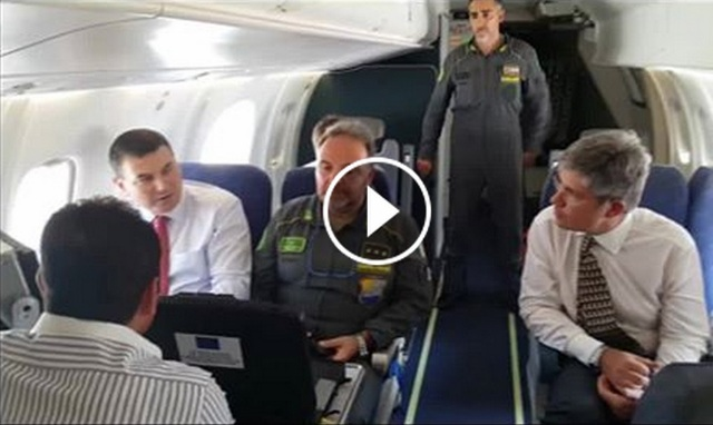 Italian police aircrafts film plots cultivated with narcotics in Albania (VIDEO)