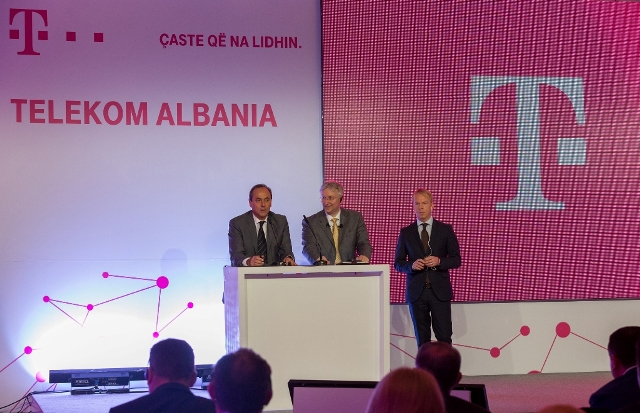 Telekom Albania officially unveiled