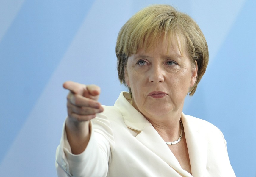 Merkel: If you want a 'haircut' then exit the monetary union!