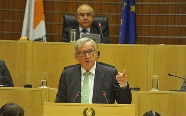 'Cyprus will not walk alone after reunification', says Juncker