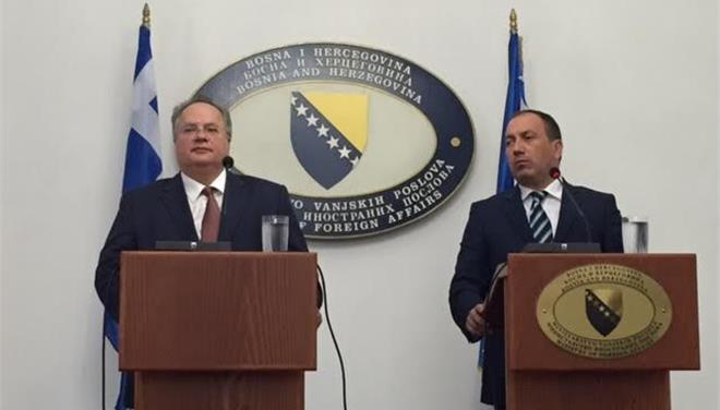 Kotzias: 'Bosnia an example of positive energy in the EU'