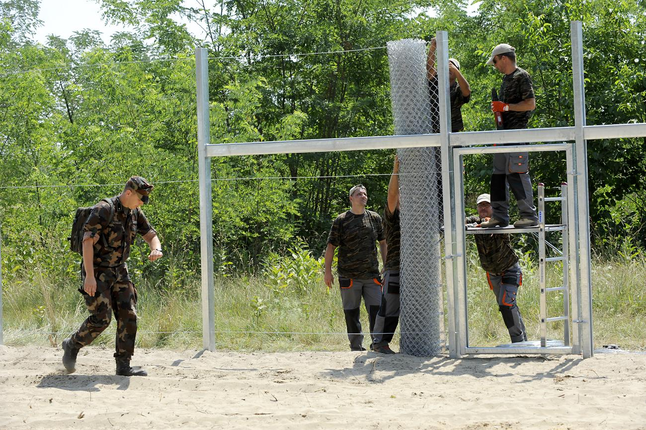 Hungary installs wall on the border with Serbia – EU not against it