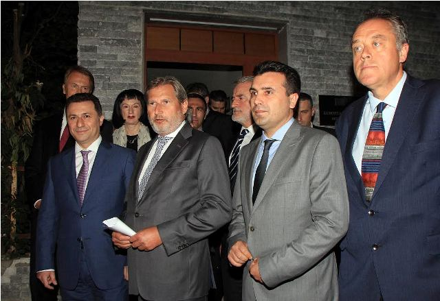 A deal is struck for the solution of the political crisis in FYROM