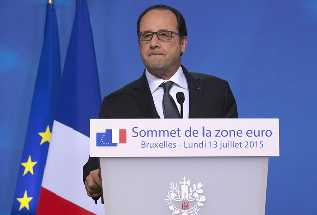 Hollande: Tsipras made a brave choice