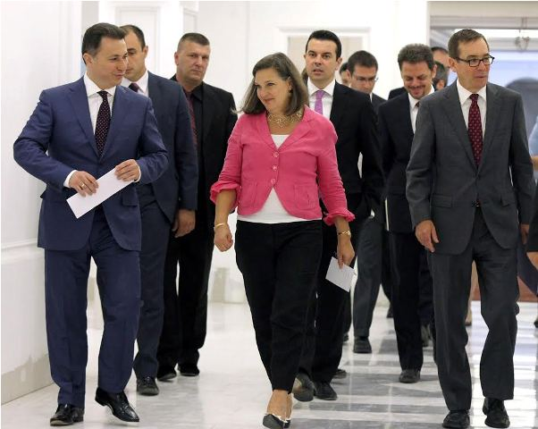 Nuland in Skopje: It's time to solve the political crisis