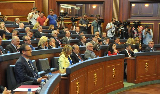 Kosovo's revised budget approved by parliament