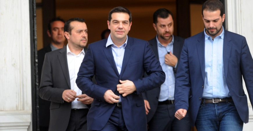 Greek bailout plan sent to institutions for scrutiny
