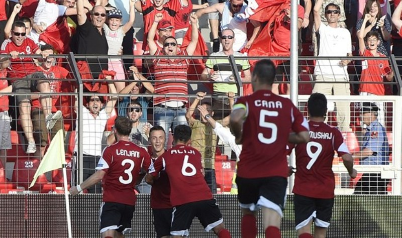 Albania ranks 36th in the FIFA ranking, the best ranking of all times in the history of the National team