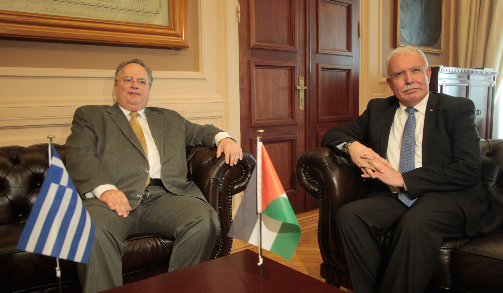 Kotzias: Greece has always supported the Palestinian cause