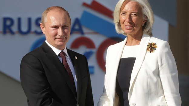 Putin – Lagarde spoke on the phone on the Greek issue